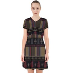 Tardis Doctor Who Ugly Holiday Adorable in Chiffon Dress