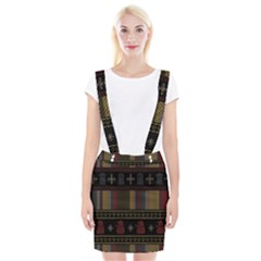 Tardis Doctor Who Ugly Holiday Braces Suspender Skirt