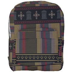 Tardis Doctor Who Ugly Holiday Full Print Backpack