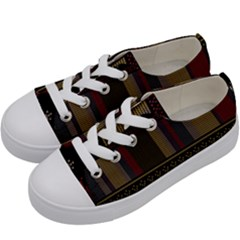 Tardis Doctor Who Ugly Holiday Kids  Low Top Canvas Sneakers