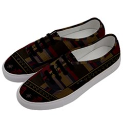 Tardis Doctor Who Ugly Holiday Men s Classic Low Top Sneakers