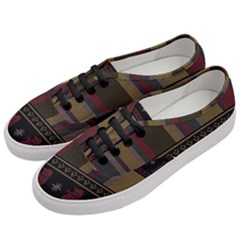 Tardis Doctor Who Ugly Holiday Women s Classic Low Top Sneakers