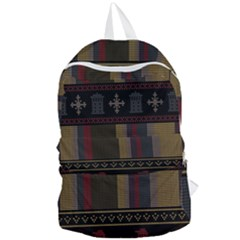 Tardis Doctor Who Ugly Holiday Foldable Lightweight Backpack