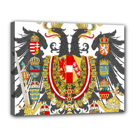 Imperial Coat Of Arms Of Austria Hungary  Canvas 14  X 11