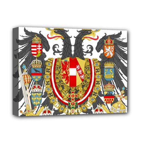 Imperial Coat Of Arms Of Austria Hungary  Deluxe Canvas 16  X 12