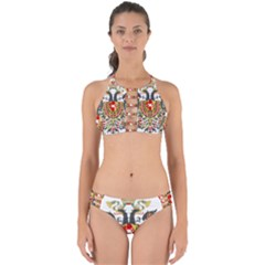Imperial Coat Of Arms Of Austria Hungary  Perfectly Cut Out Bikini Set