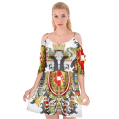 Imperial Coat Of Arms Of Austria Hungary  Cutout Spaghetti Strap Chiffon Dress