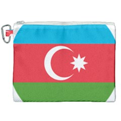 Roundel Of Azerbaijan Air Force Canvas Cosmetic Bag (xxl) by abbeyz71
