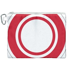 Roundel Of Bahrain Air Force Canvas Cosmetic Bag (xxl) by abbeyz71