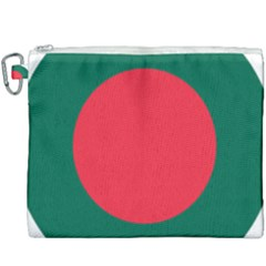 Roundel Of Bangladesh Air Force Canvas Cosmetic Bag (xxxl) by abbeyz71