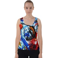 Mixed Feelings 7 Velvet Tank Top