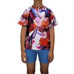Cabin In The Mountain 2 Kids  Short Sleeve Swimwear