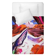 Cabin In The Mountain 2 Duvet Cover Double Side (single Size)