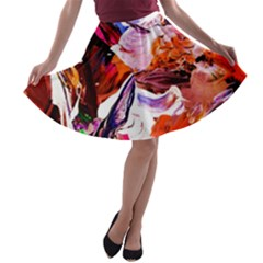 Cabin In The Mountain 2 A Line Skater Skirt