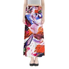 Cabin In The Mountain 2 Full Length Maxi Skirt
