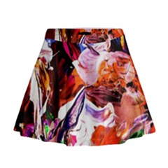 Cabin In The Mountain 2 Mini Flare Skirt
