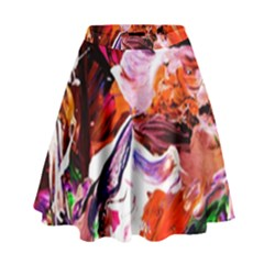 Cabin In The Mountain 2 High Waist Skirt