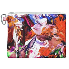 Cabin In The Mountain 2 Canvas Cosmetic Bag (xxl)