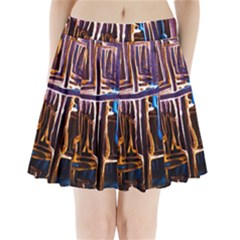 Ceramics Of Ancient Land 9 Pleated Mini Skirt by bestdesignintheworld