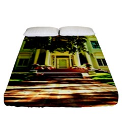 Highland Park 15 Fitted Sheet (king Size) by bestdesignintheworld
