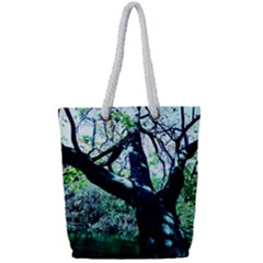 Highland Park 11 Full Print Rope Handle Tote (small) by bestdesignintheworld