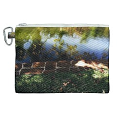 Highland Park 10 Canvas Cosmetic Bag (xl) by bestdesignintheworld