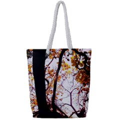 Highland Park 8 Full Print Rope Handle Tote (small)