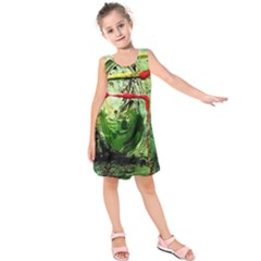 Continental Breakfast 6 Kids  Sleeveless Dress