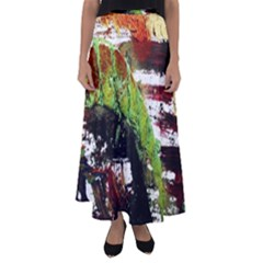 Collosium   Swards And Helmets 3 Flared Maxi Skirt by bestdesignintheworld