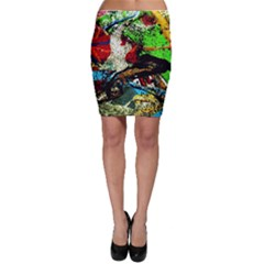 Coffee Land 5 Bodycon Skirt