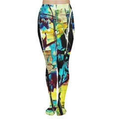 Dance Of Oil Towers 3 Women s Tights