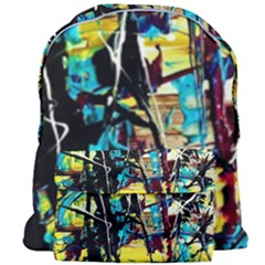 Dance Of Oil Towers 3 Giant Full Print Backpack by bestdesignintheworld