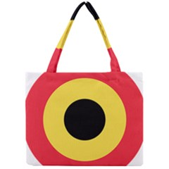 Roundel Of Belgian Air Force Mini Tote Bag by abbeyz71