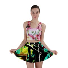 Dance Of Oil Towers 5 Mini Skirt by bestdesignintheworld