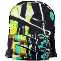Dance Of Oil Towers 5 Giant Full Print Backpack by bestdesignintheworld