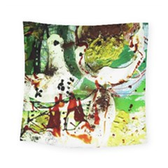 Doves Matchmaking 12 Square Tapestry (small) by bestdesignintheworld