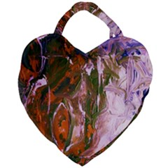 Close To Pinky,s House 12 Giant Heart Shaped Tote by bestdesignintheworld