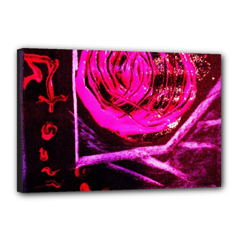 Calligraphy 2 Canvas 18  X 12  by bestdesignintheworld