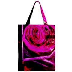Calligraphy 2 Zipper Classic Tote Bag by bestdesignintheworld
