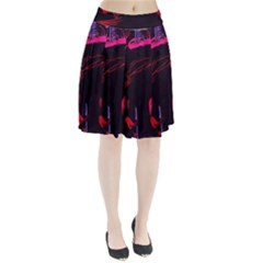 Calligraphy 4 Pleated Skirt by bestdesignintheworld