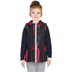 Calligraphy Kid s Hooded Puffer Vest