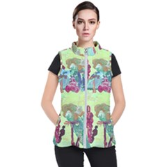 Trail 1 Women s Puffer Vest by bestdesignintheworld