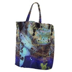 Blue Options 3 Giant Grocery Zipper Tote by bestdesignintheworld