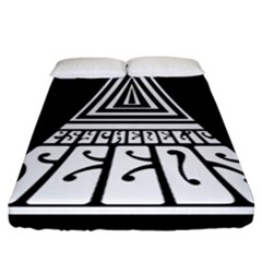 Psychedelic Seeds Logo Fitted Sheet (california King Size)