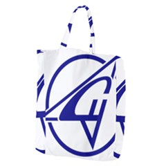 Sukhoi Aircraft Logo Giant Grocery Zipper Tote by Samandel