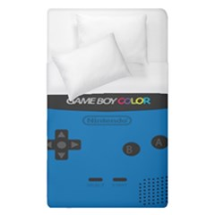 Game Boy Colour Blue Duvet Cover (single Size) by Samandel