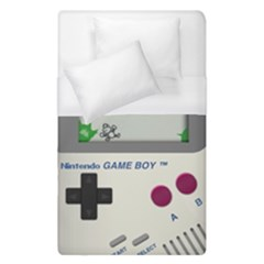 Game Boy White Duvet Cover (single Size) by Samandel