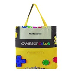 Game Boy Yellow Grocery Tote Bag