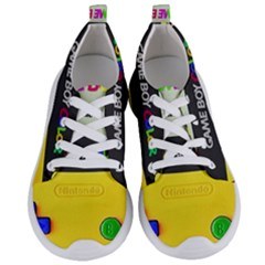 Game Boy Yellow Women s Lightweight Sports Shoes