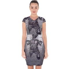 Han Solo Capsleeve Drawstring Dress